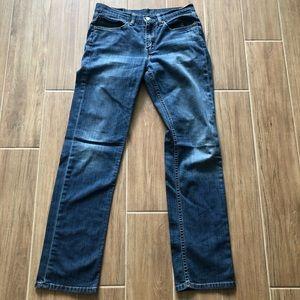 Levi's Straight-Fit Denim Jeans.  Size 31x32.